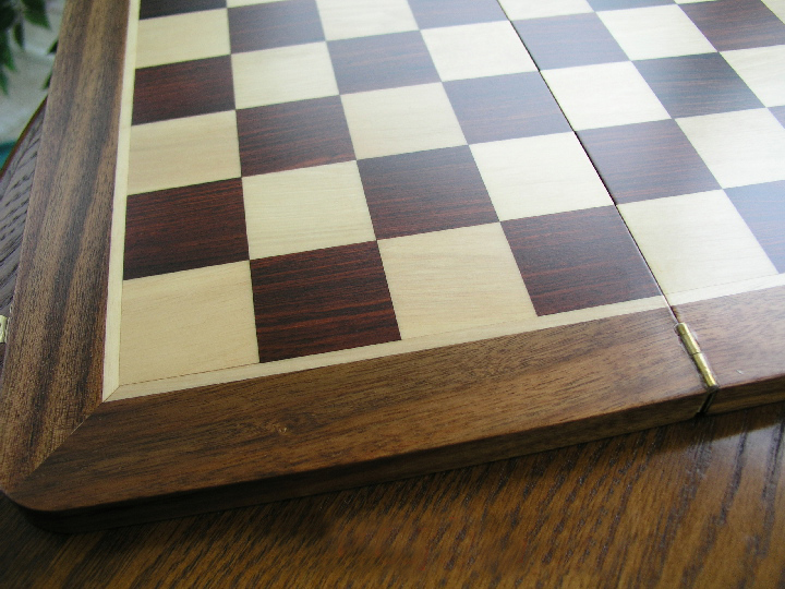 High Quality Folding Chess Board with 1.75 inch Squares
