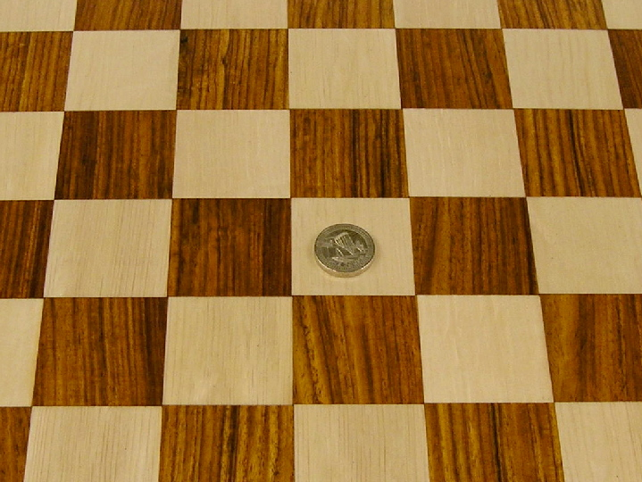 Luxury Rosewood Chess Board with 1.75 inch Squares