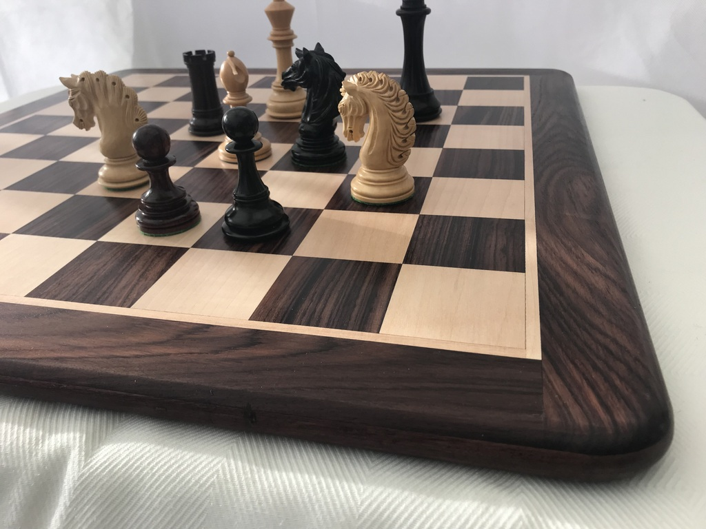 Large Heavy High Quality Solid Chess Board 2.4 inch Squares