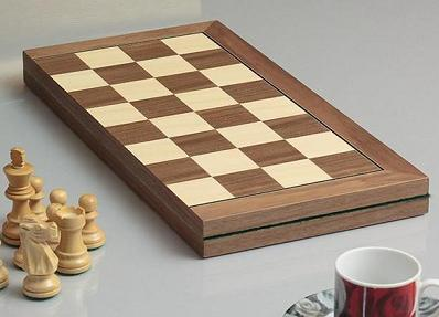 High Quality Folding Chess Board with 2 inch Squares