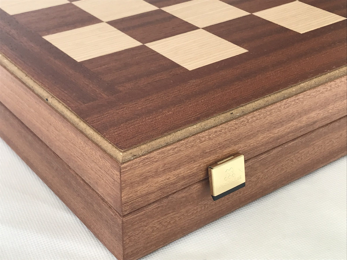 Manopoulos Full Size Chess, Draughts and Backgammon Combined