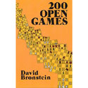 BK2004 Bronstein - 200 Open Games Chess Book