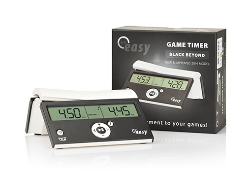 CL2036 DGT Easy Digital Chess Clock - Beyond Black