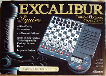 Excalibur Squire Chess Computer