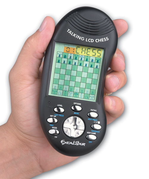 Excalibur Talking Handheld Chess Computer