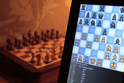 Hand Held Chess Computer