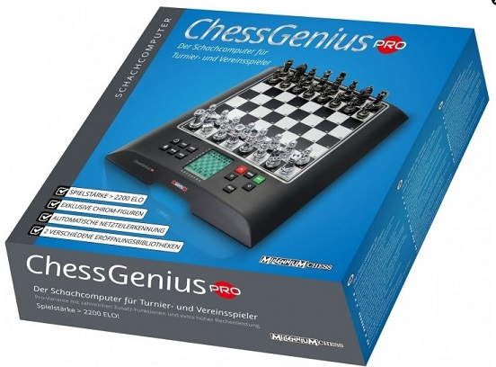 MILLENNIUM ChessGenius Chess Computer - PRO