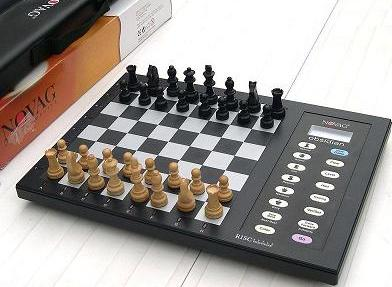 Novag Obsidian Chess Computer