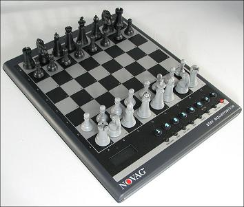 Novag Star Aquamarine Desktop Chess Computer