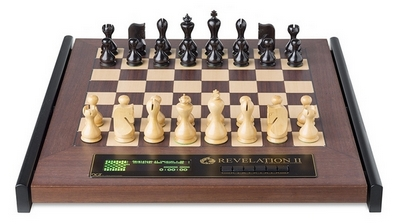 CMD2032 DGT Revelation II Luxury Chess Computer with Venus Chess Pieces