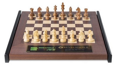 DGT Revelation II Luxury Chess Computer with Timeless Chess Pieces