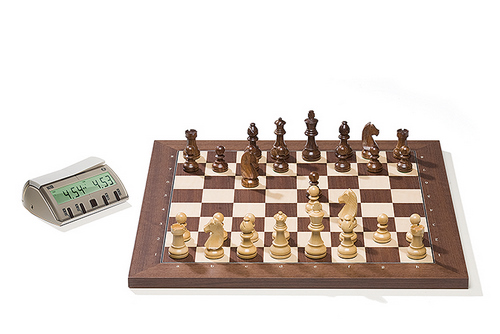 DGT2006 Rosewood DGT Electronic Chessboard (E-Board) Serial Port Version. Timeless Pieces