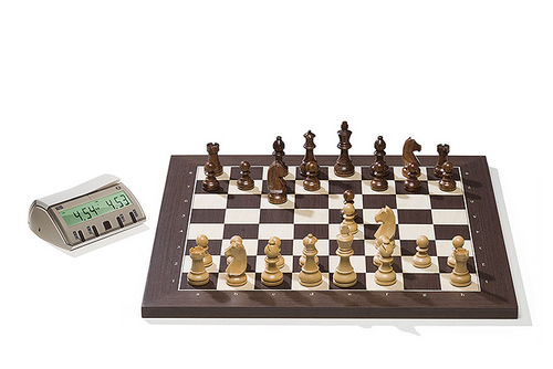 Wenge DGT Electronic Chessboard (E-Board) USB Port Version. Timeless Pieces