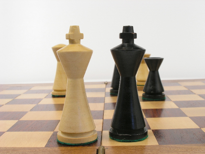 Contemporary Modern Chess Set