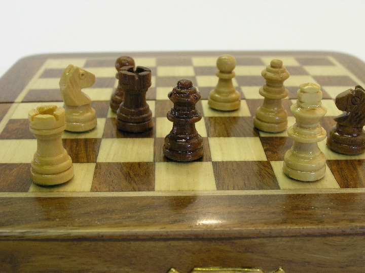 Compact Magnetic Travel Chess Set