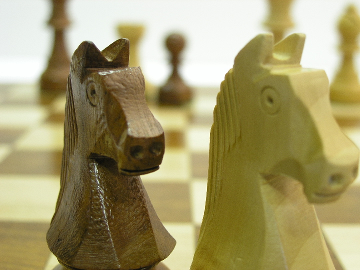 Cute Staunton Double Weighted Chess Pieces
