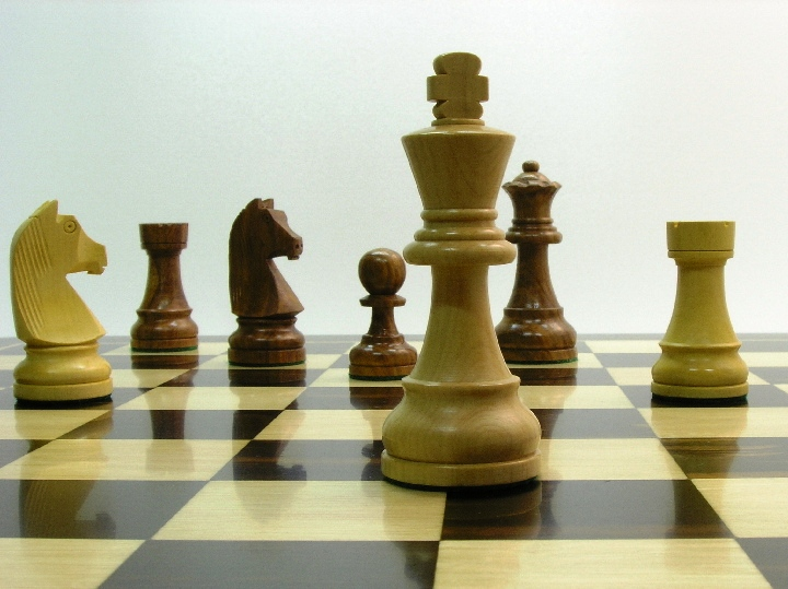 Chunky Staunton - Double Weighted Chess Pieces