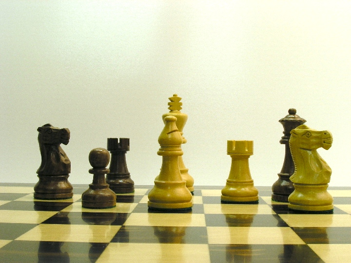 American Staunton with 3.75 inch King Chess Set