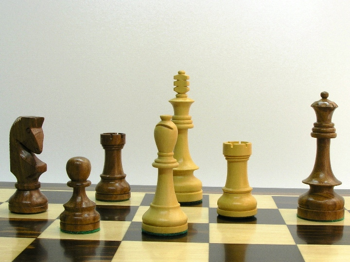 Weighted Russian Special with 4.25 inch King Chess Set
