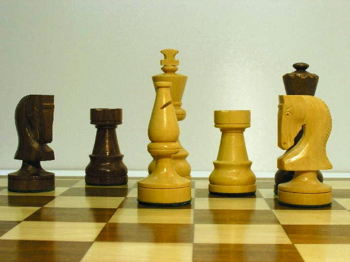Weighted Russian Classic 3 inch King Chess Pieces