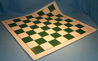 F2003 Roll Up Vinyl Chess Mat - 2.15 inch squares