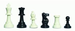 Weighted Gambit Tournament Chess Pieces