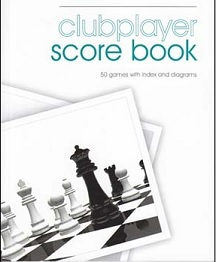 Softback 50 Game Scorebook