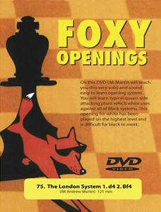 Foxy Openings - The London System - Andrew Martin - Chess DVD