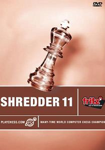 Shredder 11 Chess Software on DVD