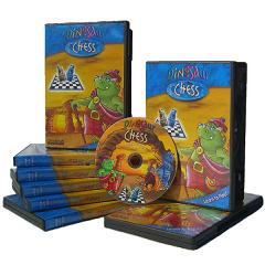 Chess Software - Dinosaur Chess on DVD