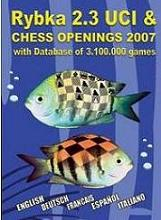 G2009 Rybka 3 UCI CD-ROM Chess Software
