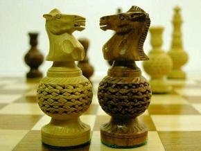 Mughal Aftab Fretwork Chess Pieces
