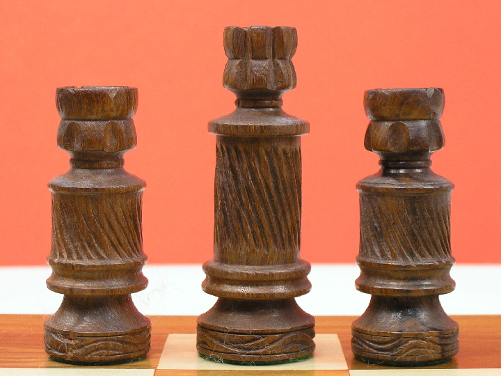 Coiled Orthodox Weighted Chess Pieces