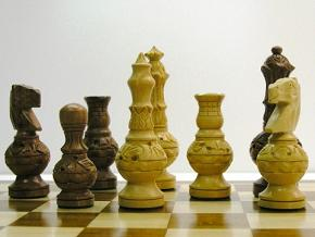 Mughal Aftab Special Carved Chess Set