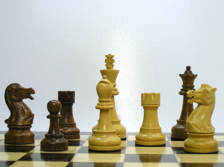 Chess Champion 4.5 inch King Staunton Chess Pieces