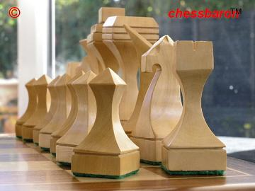 The Moore Contemporary Chess Pieces