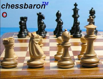 New! The Meghdoot Ebonised Chess Pieces