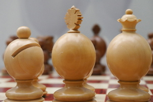 The Globe Chess Pieces