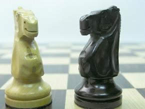 Monarch Staunton Ebonised Chess Pieces