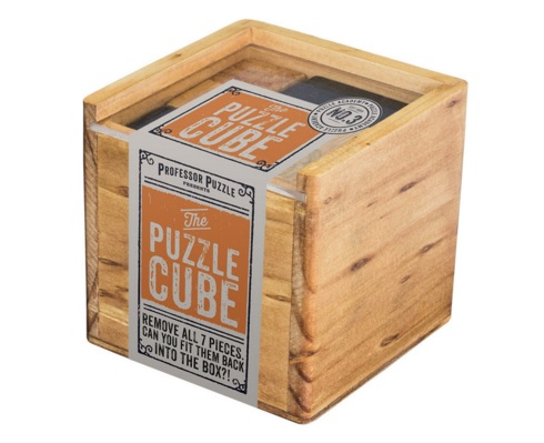 The Puzzle Cube - Wooden Puzzle