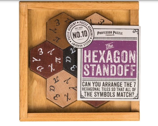 The Hexigon Standoff - Wooden Puzzle