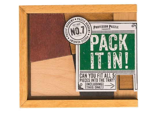 Pack it In - Wooden Puzzle