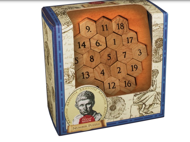 Aristotles Numbers - Wooden Puzzle