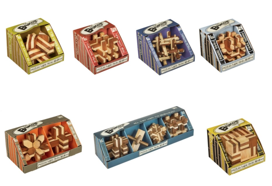 Bamboo Combo - All Seven Bamboo Puzzles