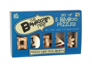 Bamboozled - Set of Five Wooden Puzzles