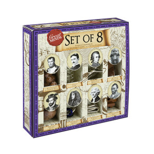 Great Minds - Set of Eight Puzzles