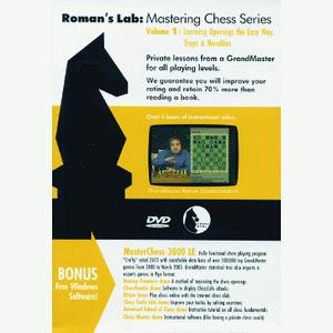 Romans Chess DVD - Lab Vol 1 - Learning Openings the Easy Way - Traps and Novelties
