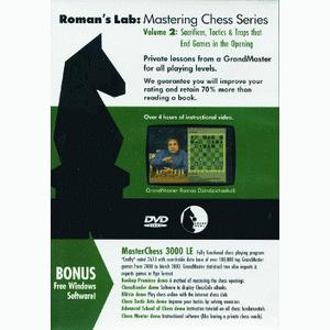 Romans Chess DVD - Lab Vol 2 - Sacrifices and Tactics that End Games in the Opening