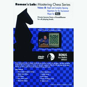 Romans Chess DVD - Lab Vol 5 - Rapid and Complete Opening Repertoire for White
