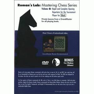 Romans Chess DVD - Lab Vol 6 - Rapid and Complete Opening Repertoire for Black